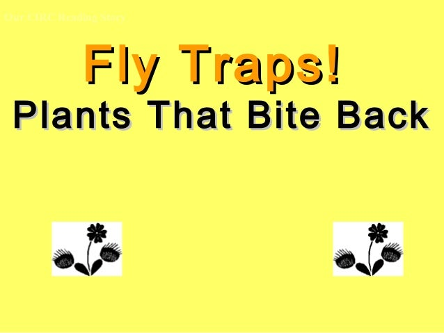 Our CIRC Reading Story              Fly Traps! Plants That Bite Back