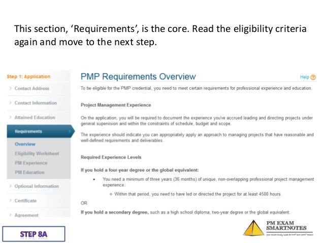 PMESN: Step-by-step guide to filling PMP application