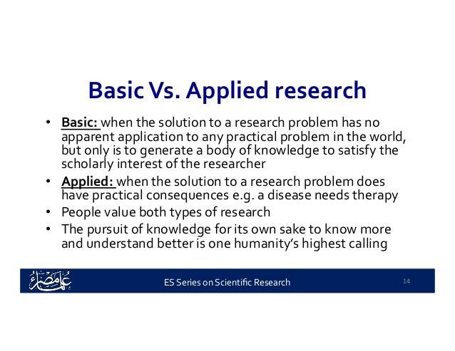 Basic research