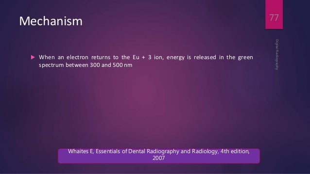 Essentials of dental radiography and radiology 4th edition