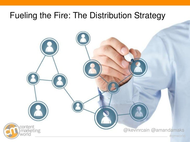 Fueling the Fire: The Distribution Strategy                               @kevinrcain @amandamaks                         ...