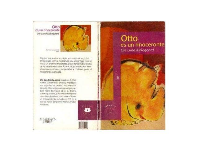 Otto  es un rinoceronte Ofle Lund lürkegoard  Otto  es un rinoceronte Ole Lund Kírkegaard  nmummncwr;  Mu s - '            ...