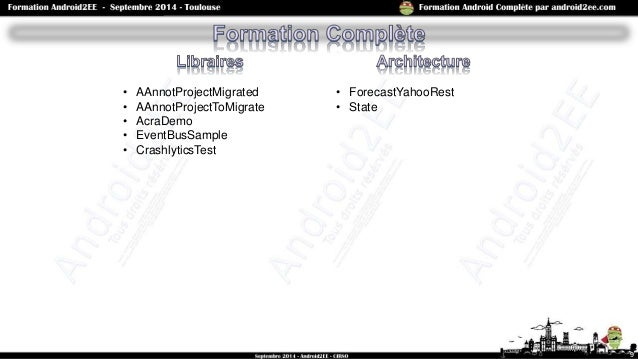 • AAnnotProjectMigrated • AAnnotProjectToMigrate • AcraDemo • EventBusSample • CrashlyticsTest 9 • ForecastYahooRest • Sta...