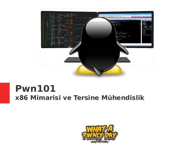 Pwn101 x86 Mimarisi ve Tersine Mühendislik