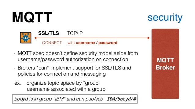 MQTT - A practical protocol for the Internet of Things