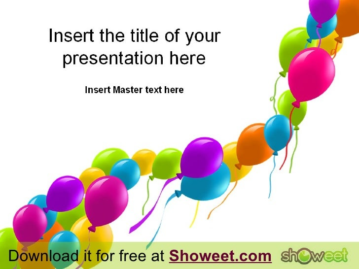 Download it for free at  Showeet.com