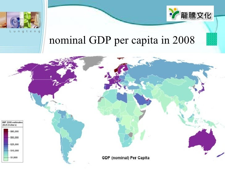 nominal GDP per capita in 2008