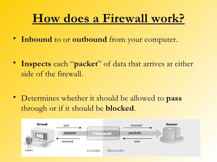 how to allow a program through mcafee firewall