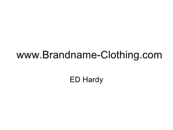 www.Brandname-Clothing.com ED Hardy