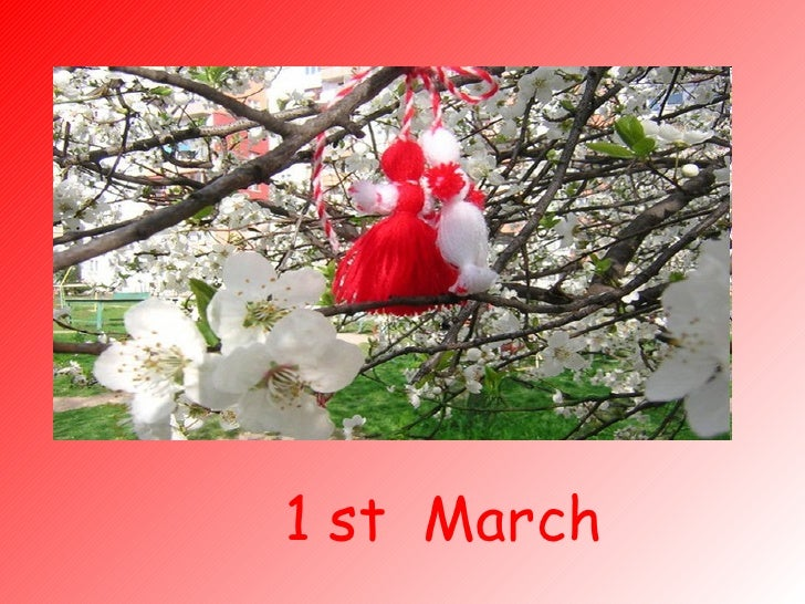 1 st  March