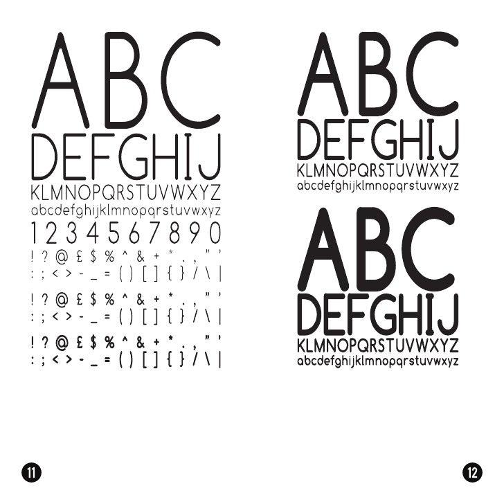 Booklet 1 - San Serif