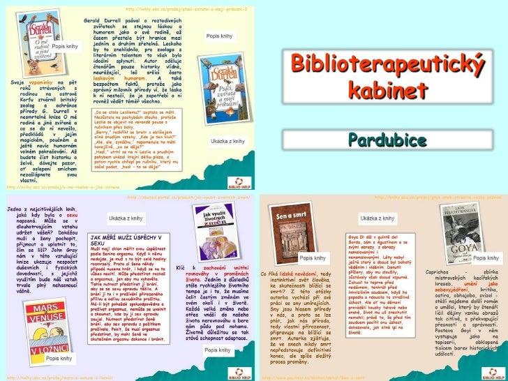 Biblioterapeutický       kabinet       Pardubice