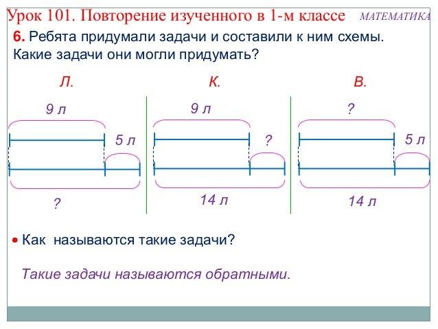 Схемы 1 класс учебники