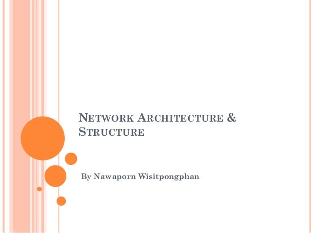 NETWORK ARCHITECTURE & STRUCTURE By Nawaporn Wisitpongphan