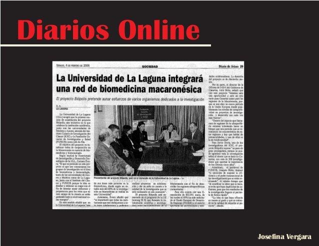 Diarios Online Josefina Vergara
