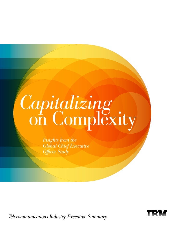 Capitalizing     on Complexity               Insights from the               Global Chief Executive               Officer ...