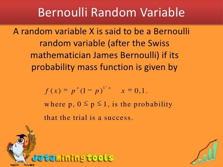 Bernoullis Random Variables And Binomial Distribution Slide 3