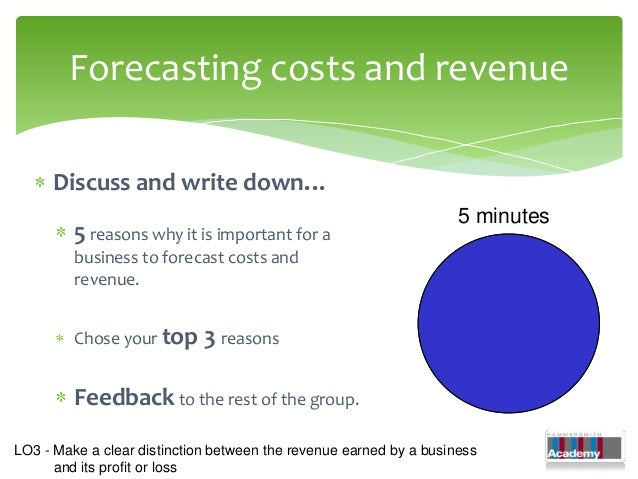 1.11 calculating costs, revenue and profits - moodle