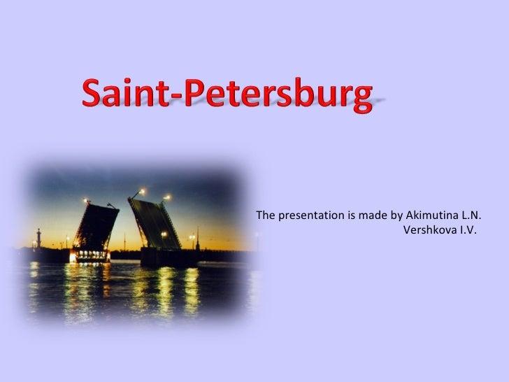 санкт петербург (1) Slide 1