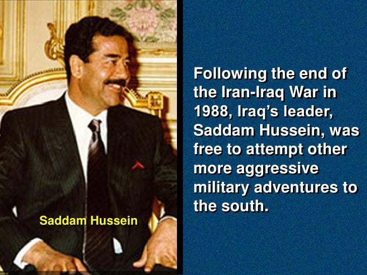 the united states war against saddam hussein was justified The justice of war against saddam's regime: counting the cost  paul r hinlicky 12/01/2002 a dangerous principle for a dangerous world [1] in floating the notion of preemptive attack against states harboring terrorists or preparing weapons of mass destruction for use against the united states, the bush administration is considering.
