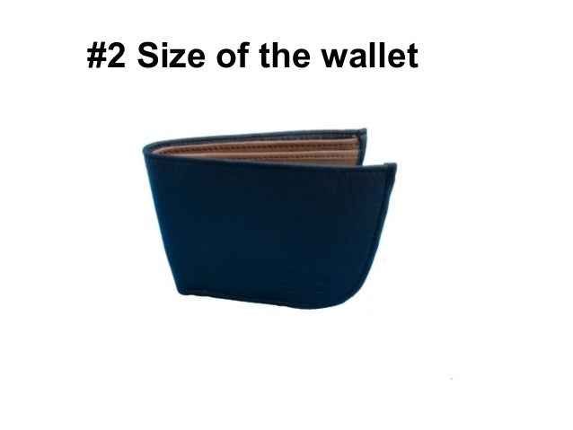 Right way To Choose Wallet for Men - Rediff Shopping Slide 2