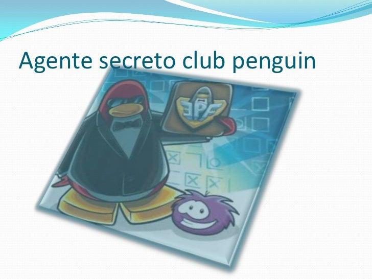 Agente secreto club penguin
