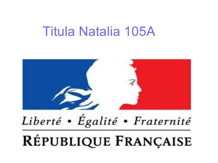 Titula Natalia 105A