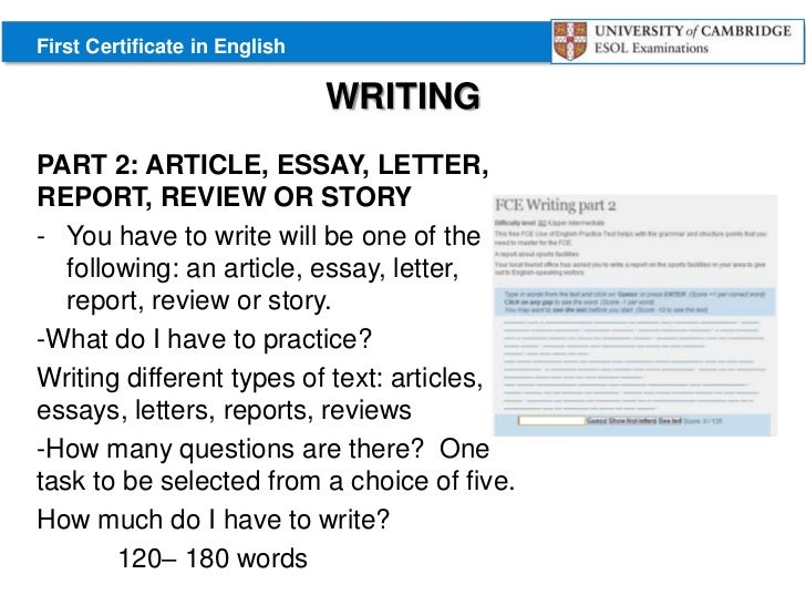 example of compare essay