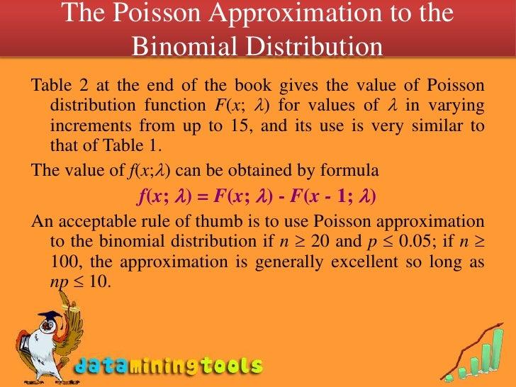 Poisson distribution poisson process geometric distribution - Poisson distribution table ...