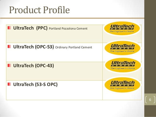 Ultratech Cement Variety :