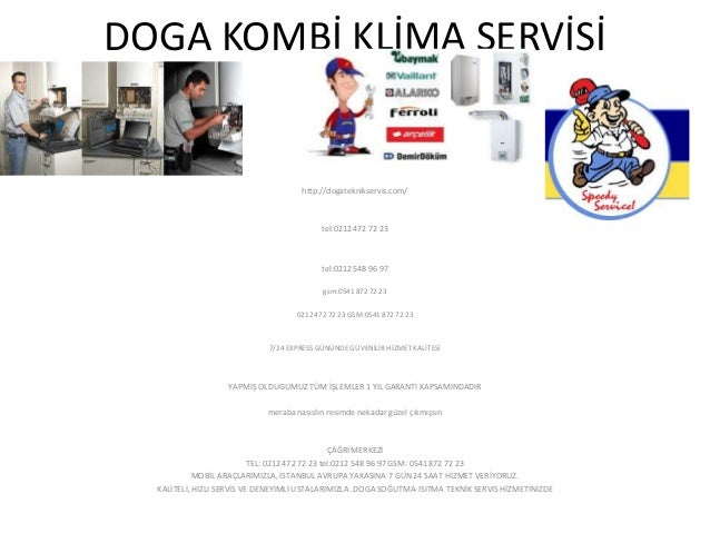 DOGA KOMBİ KLİMA SERVİSİ                                      http://dogateknikservis.com/                                ...