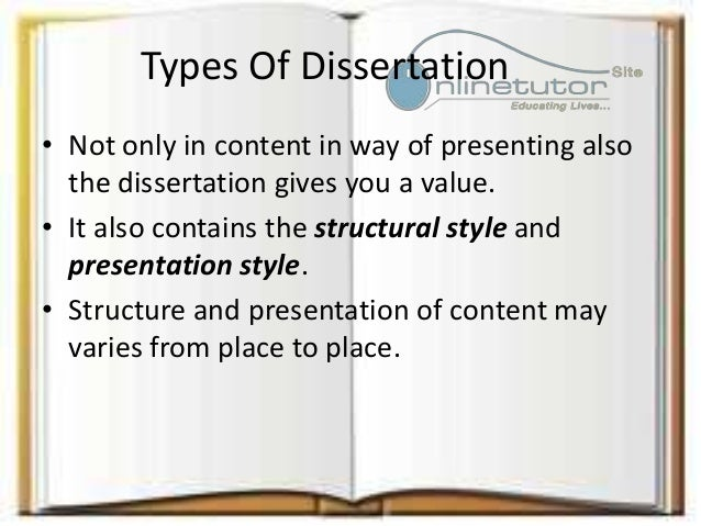 Dissertation What Is It