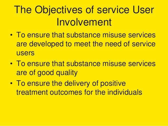 Service user involvement literature review