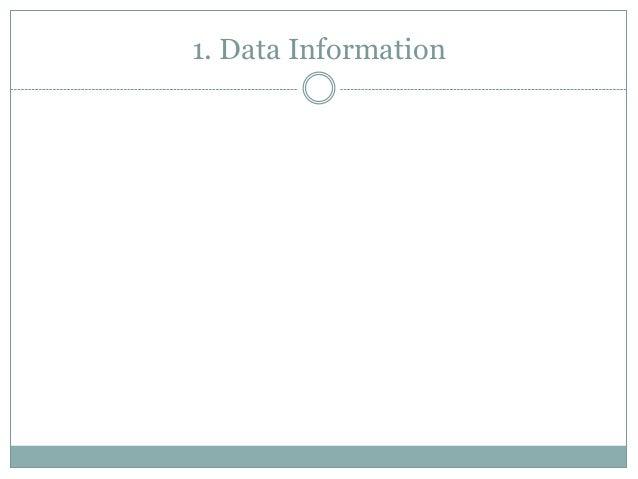 1. Data Information