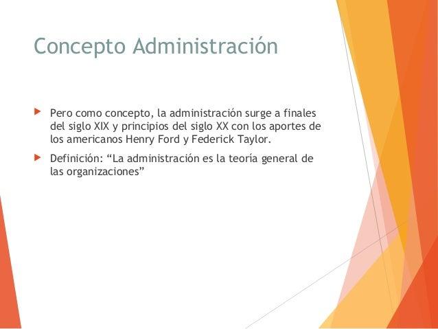 1 conceptos administraci n for Nociones basicas de oficina concepto