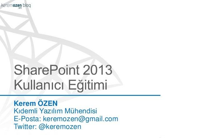 Kerem ÖZEN Kıdemli Yazılım Mühendisi E-Posta: keremozen@gmail.com Twitter: @keremozen