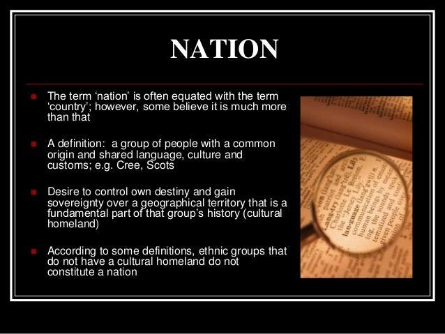Image Result For Nationalism Definitiona