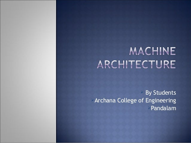  By Students Archana College of Engineering Pandalam