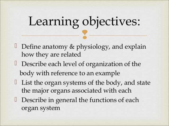 1. basic human physiology
