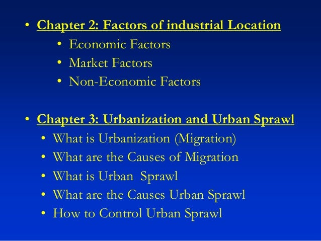 an analysis of urban sprawl a problem with severe consequences The problem can also lie on the failure in coordination among  thereby creating an urban sprawl mix of formal  a sociological analysis of korogocho slum,.