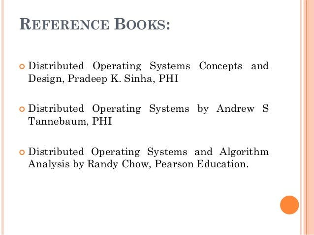 Distributed Operating System 1