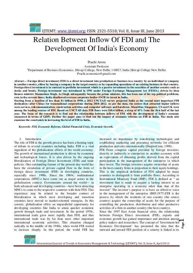 IJTEMT; www.ijtemt.org; ISSN: 2321-5518; Vol. II, Issue III, June 2013 International Journal of Trends in Economics Manage...