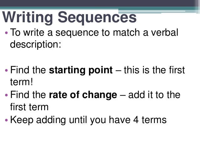 "rate and sequence essay Rate and sequence essay sample 11- explain the difference between the sequence and rate of development and why this difference is important development is ""a continuous process, which begins at conception and continues throughtout life into old age"" (stearns et al (2011) page 126."