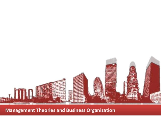 Management Theories and Business Organization