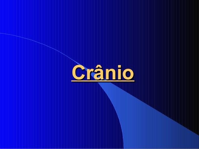 CrânioCrânio