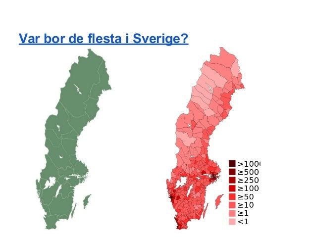 befolkning städer i sverige