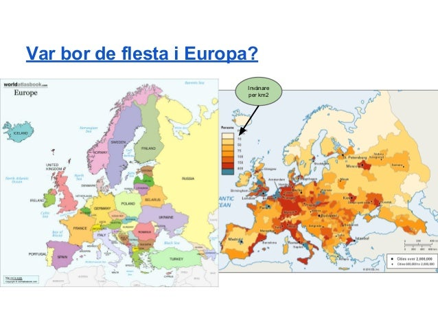 europa invånare