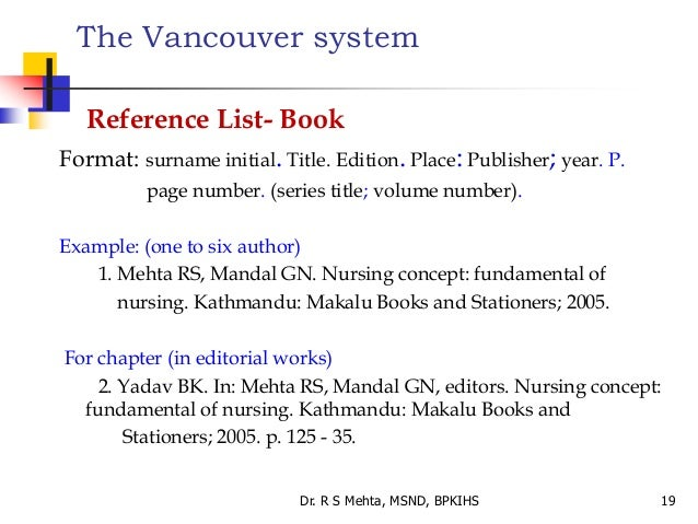1-literature-search-and-referencing-styles-19-638 Vancouver Format Example on paper examples, layout examples, medium examples, source examples, text examples, more examples, output examples, origin examples, style examples, resolution examples, purpose examples, media examples, organization examples, capacity examples, label examples, sales role play examples, place examples, content examples, information examples,