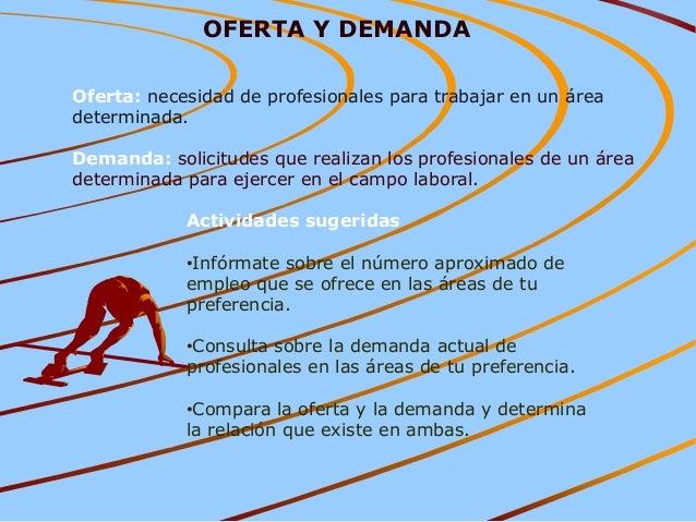 Ii elecci n de una carrera u 2013 2 for Consulta demanda de empleo