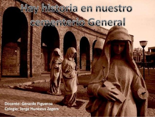 Docente: Gerardo Figueroa Colegio: Jorge Huneeus Zegers